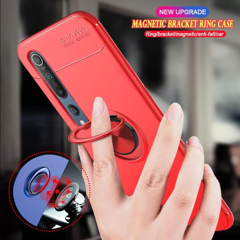 Para Xiaomi MI nota 10 9 9T 8 SE CC9 CC9E Poco X2 M2 F2 MI10 MI9 MI8 Pro 5X 6X A1 A2 Lite A3 soporte magnético del coche de la cubierta del teléfono
