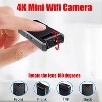 JOZUZE Small Mini IP Camera Wifi 4K Full HD 1080P Micro Camera Smart Home Monitor Mini Video Camcorder Micro IP Cam Wide Angle