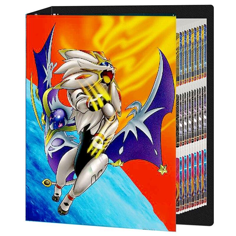 TAKARA TOMY-álbum de cartas de Pokemon para niños, carpeta de colección de...