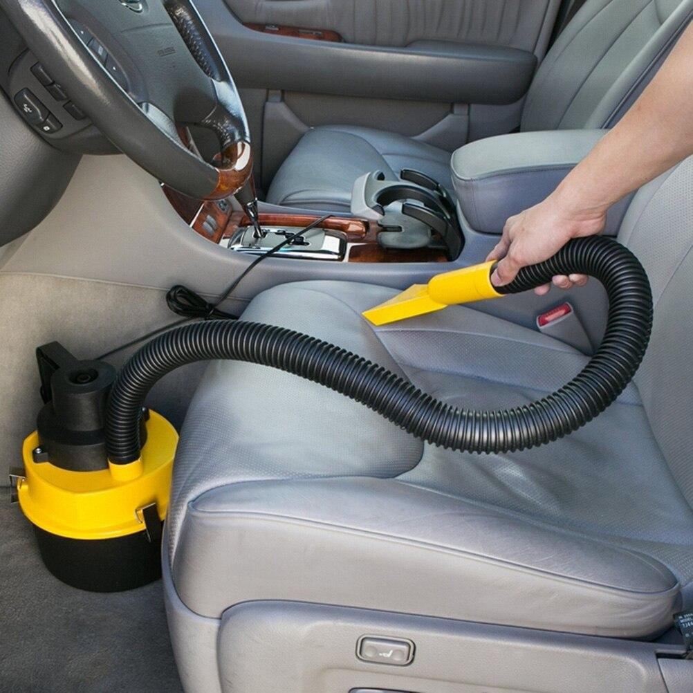 12V Новый Портативный автомобильный пылесос для сухой и влажной уборки Aspirador de po двойного назначения супер всасывания автомобильный пылесос