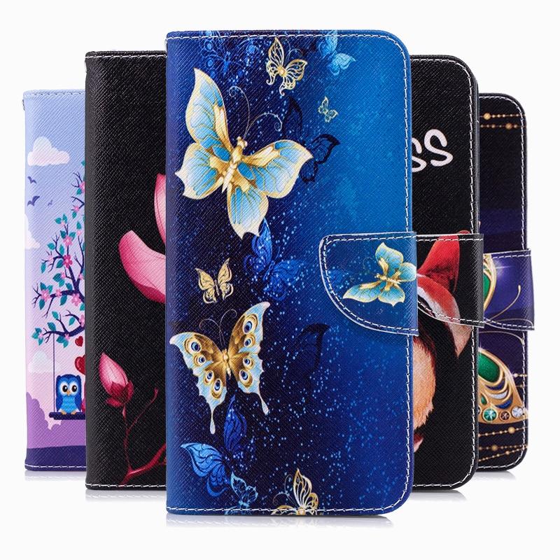 Leather Flip Case For Samsung Galaxy A70 A50 A40 A30 A20 A10 A10E A20E A8 A7 A6 A5 A3 2019 2018 2017 Plus Wallet Cover Coque
