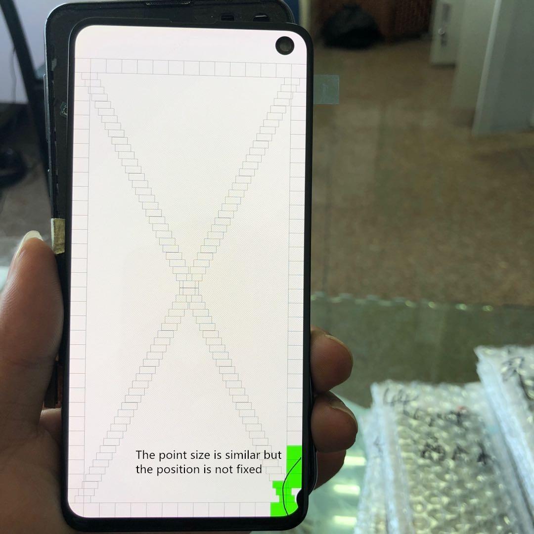 Pantalla lcd AMOLED para móvil, repuesto de pantalla táctil con Marco, 100% Original, para SAMSUNG Galaxy S10E, SM-G9700, G970N, G970U