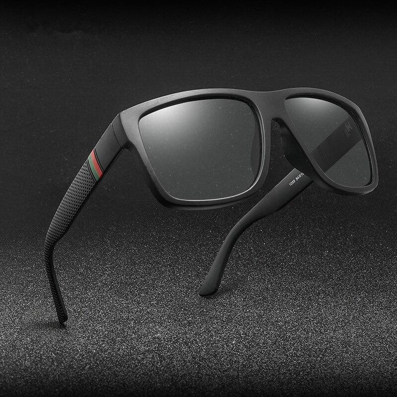 Classic Men Polarized Sunglasses Vintage Brand Design Square Driving Sun Glasses Retro Shades Eyewea