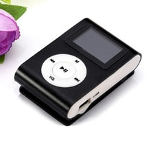 NEW Portable MP3 Player Mini MP3 Player Waterproof Sport Mp3 Music Player Support 32GB Micro SD TF C