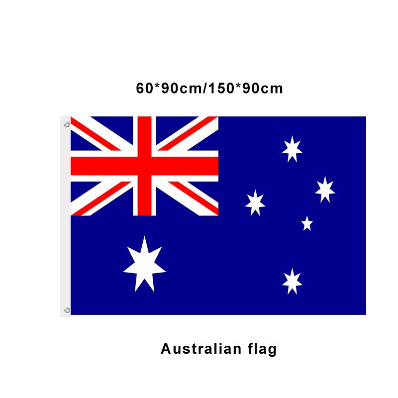 Australian National Flag 3x5ft High Quality Polyester Indoor Outdoor Decoration Flag and Banner