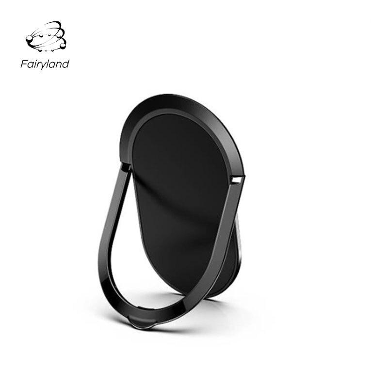 Soporte de teléfono Fairyland, soporte de anillo de Coche magnético ultrafino, soporte de escritorio para teléfono móvil, accesorio de regalo para teléfono creativo
