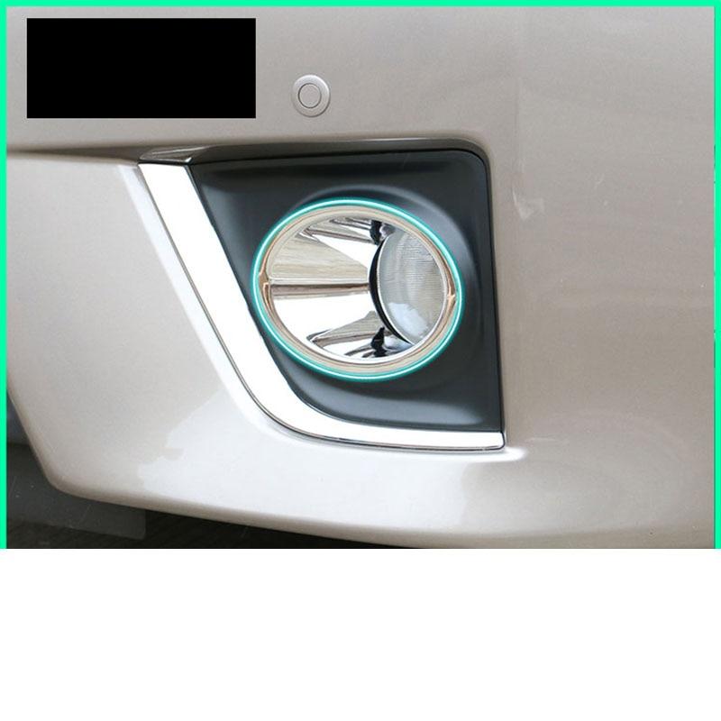 Lsrtw2017 ABS coche faros antiniebla adornos para toyota corolla 2013 a 2014, 2015, 2016, 2017 E170 decoración cromada accesorios de Marco estilo