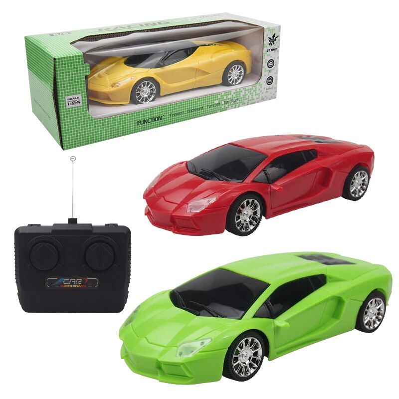 1:24 Remote Control Toy Car With 3 Colors Rotating Stunt Car Rechargeble/Battery Remote Control Toys
