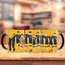 Anime volley-ball garçon tasse tasse à café motif drôle créatif boisson tasse tasse à thé