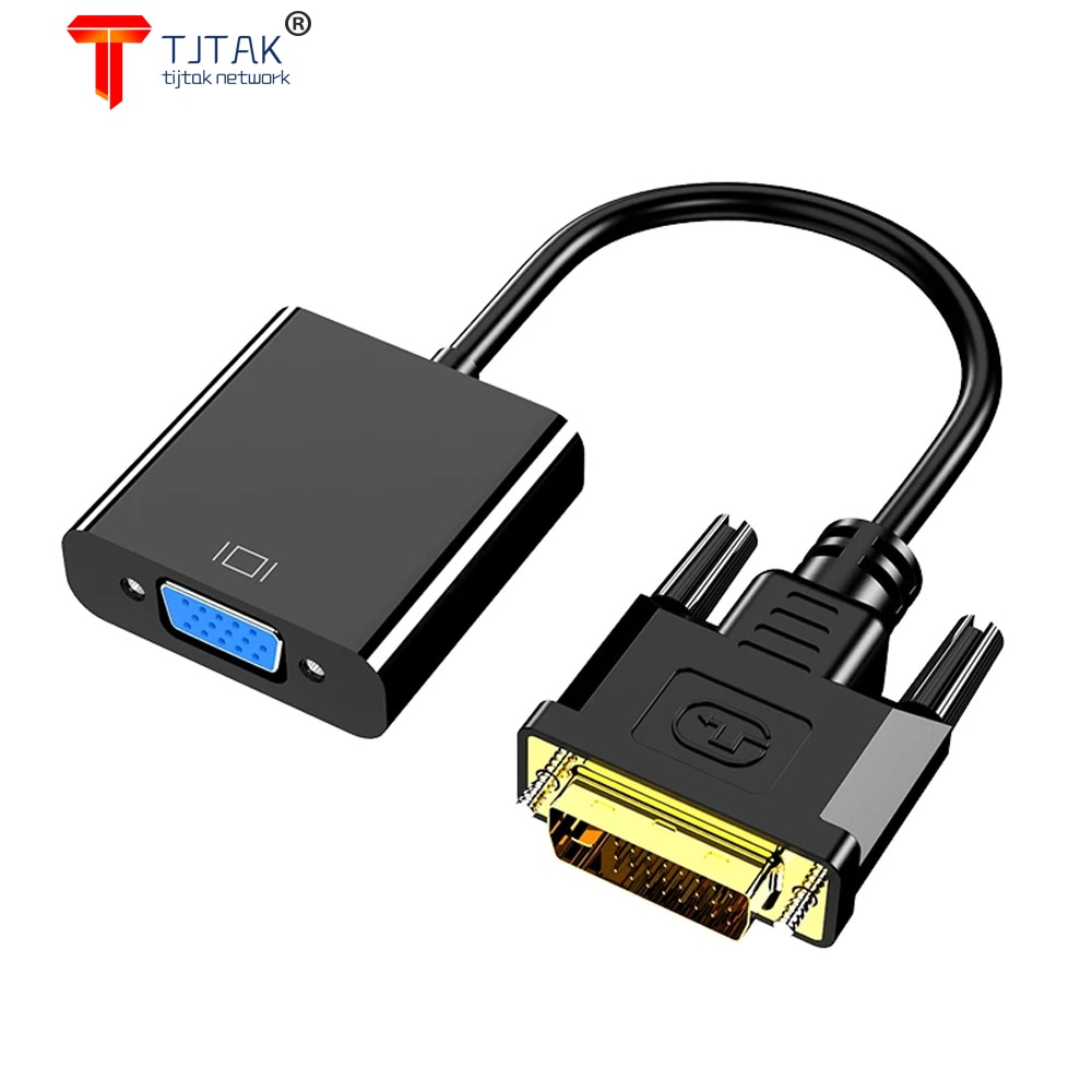 20 cm HD Completo 1080 p DVI-D Para Vga Adaptador 24 +...