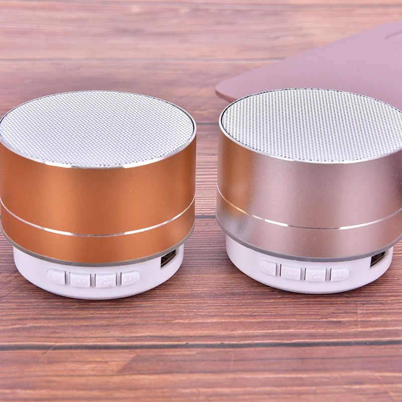 Rechargeable Portable Bluetooth Speaker Mini Speaker Music Audio TF USB AUX Stereo Sound Speaker Audio Music Player New
