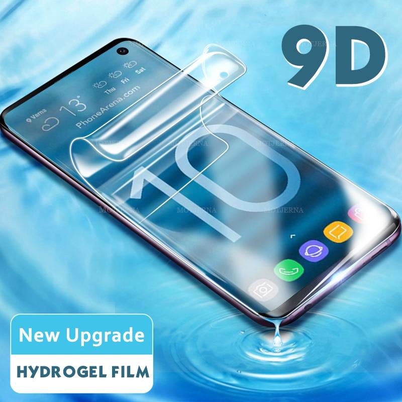9D защитный чехол для samsung Galaxy Note 10 Plus Pro Note 8 9 S10e S10 e S9 S8 Plus не стеклянный мягкий чехол Note10 Plus Pro Note9