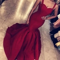 2021 women formal party night robe de soiree wine red high quality vestidos de gala evening gowns sexy mermaid long prom dresses