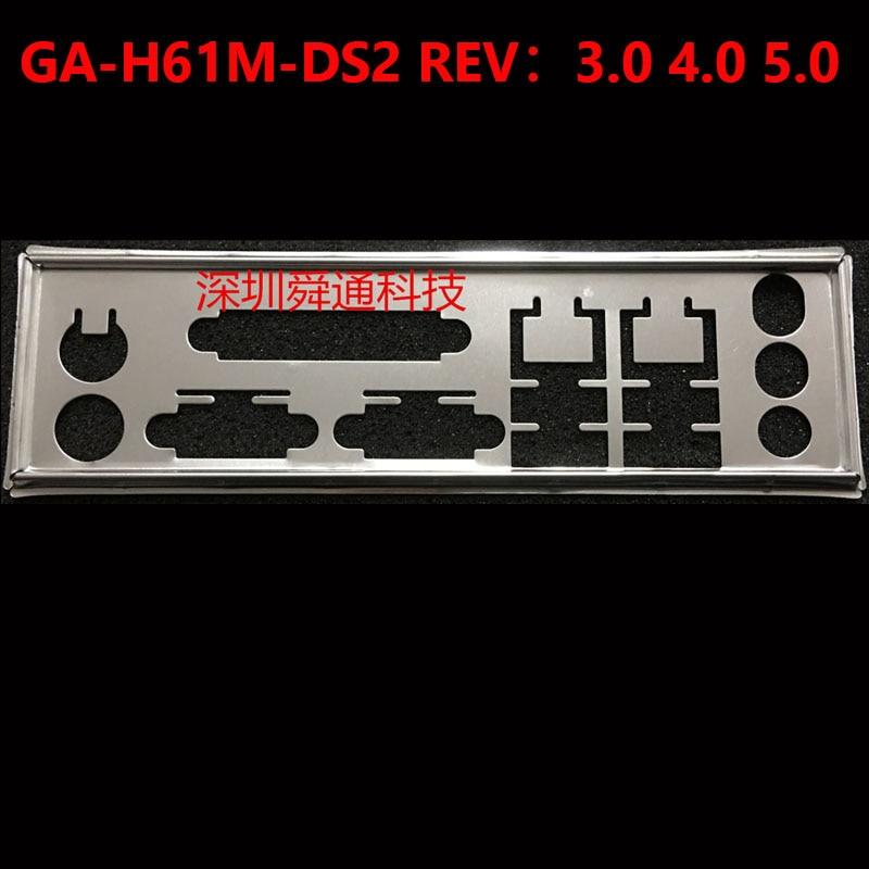 I/O Schild Zurück Platte Chassis Halterung von Motherboard für GIGABYTE GA H61M DS2(rev.3.0) Schallwand Backplane