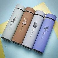 Термос из нержавеющей стали с двойными стенками, вакуумные фляжки, чашка для кофе, чая, молока, дорожная кружка, Термокружка