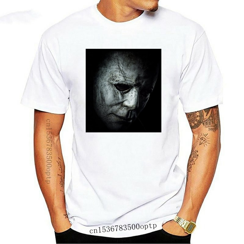 New Halloween Mystery Slasher T-Shirt - Mike Michael Myers - Creepy Spooky Blood custom printed tshirt hip hop funny tee