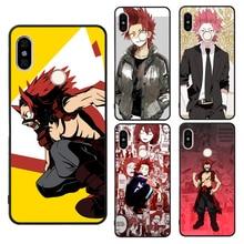 Eijiro Kirishima My Hero Academia Case For Xiaomi Mi 9 9T 10 Lite A3 Note10 Max3 Mix3 Redmi Note 8 9 Pro K30 8T 9S 7 7A 8A