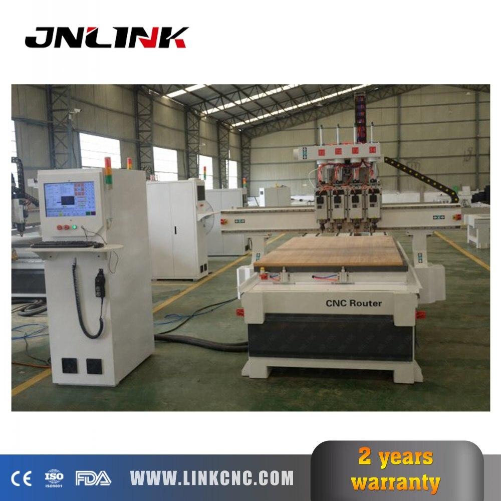Gorąca sprzedaż chiny tanie CNC ploter 1325 z Nc studio DSP System sterowania dla drewna akrylowe MDF do rzeźbienia