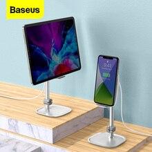 Беспроводное зарядное устройство Baseus 15 Вт, подставка для iPhone, Samsung, Xiaomi, регулируемая подставка для планшета, настольная подставка для iPad Pro Air