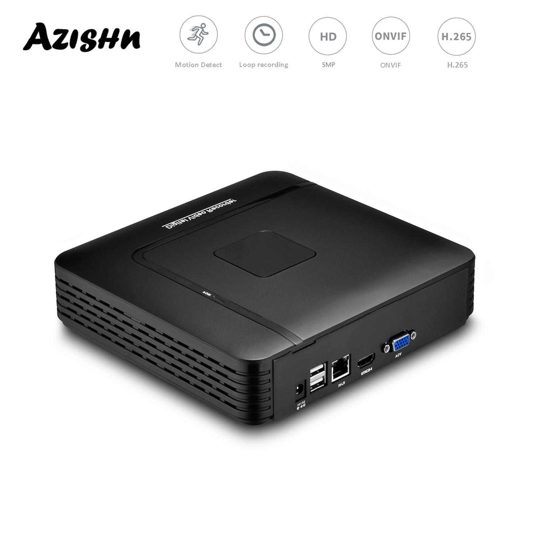 H.265 + ماكس 8MP 4K الناتج CCTV Mini NVR 16CH /9 CH 4K 8MP كشف الوجه الأمن مسجل فيديو كشف الحركة P2P CCTV NVR
