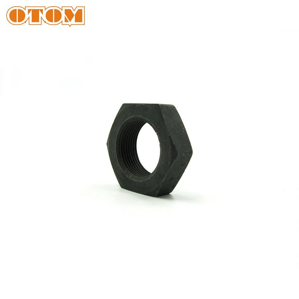 Tuerca de bloqueo OTOM o-ring Groove SS304, tuerca de bloqueo de engranaje hexagonal para ZONGSHEN ZS177MM 250cc KAYO T6 BSE J5 RX3 Dirt Street Bike