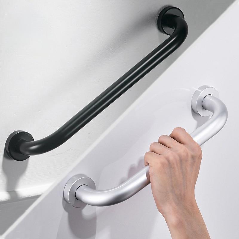 Ручка из высококачественного алюминия 30/40/50 см, поручни для ванны, поручни для ванной комнаты, поручни для улучшения дома, безопасная ручка д...