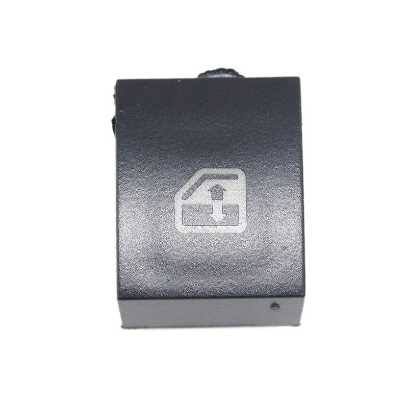 Reemplazo de cubierta de botón de interruptor de ventana de plástico negro para VAUXHALL OPEL ASTRA MK5 H ZAFIRA/TIGRA B 13228881