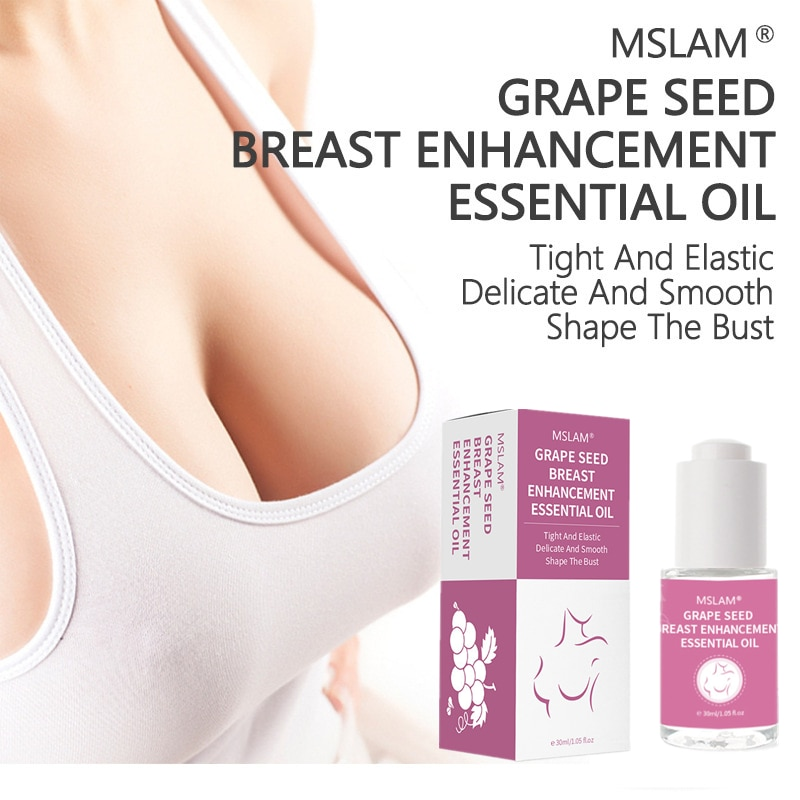 Grape Seed Breast Enhancement Oil Breast Massage Firming Elastic Breast Beauty Milk Delicate And Smo