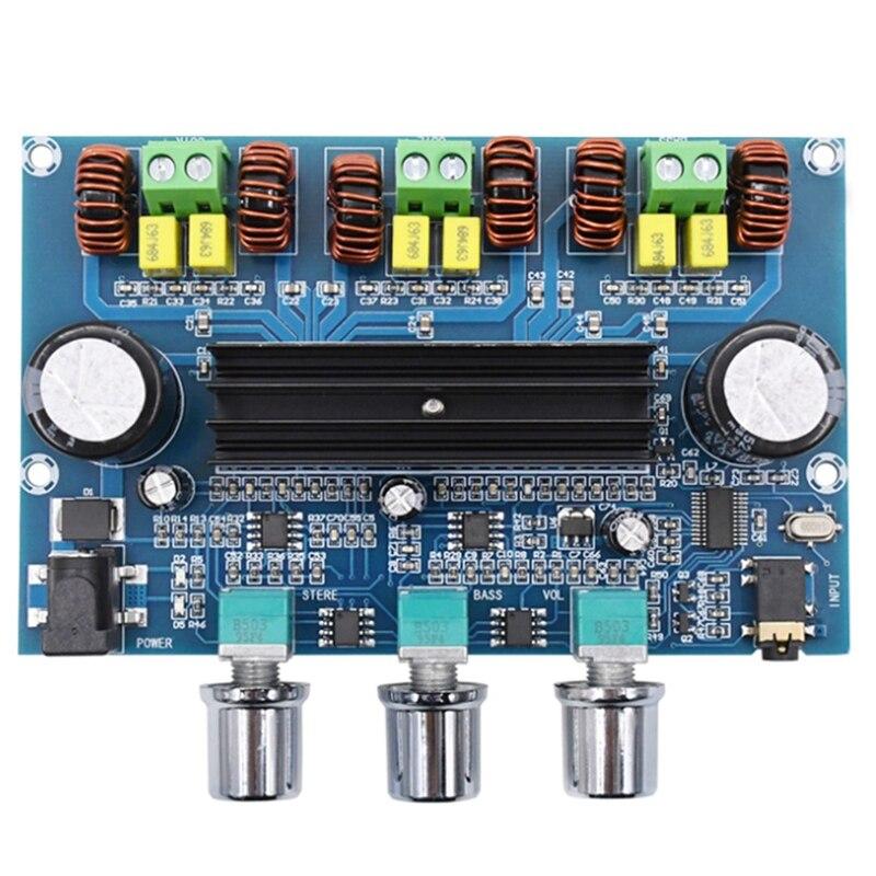 XH-A305 Bluetooth 5,0 estéreo de Digital placa amplificadora de potencia TPA3116D2 50Wx2 + 100W 2,1 canal o Subwoofer módulo AMP