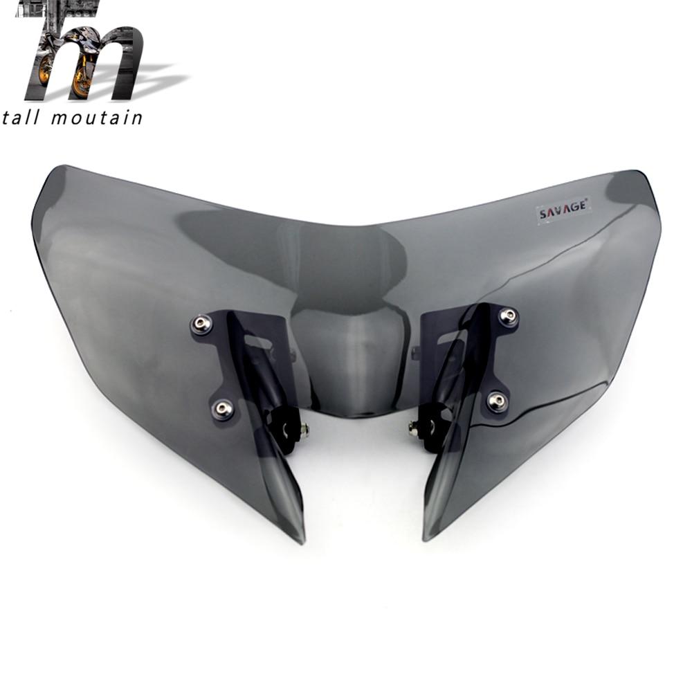 Windshield For YAMAHA MT-09/SP FZ-09 2017-2020 18 19 FZ09 MT FZ 09Windscreen Pare-brise Motorcycle Wind Deflectors MT-09SP MT09