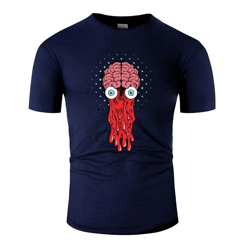Camiseta estampada Bad Brain para hombres Comics hombres camiseta gran tamaño 3xl 4xl 5xl camisas de hip hop famosas