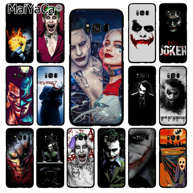 Чехол для телефона MaiYaCa, отряд самоубийц Harley Quinn Joker, для Samsung Galaxy S20 S20 S10S20 S10E S6 S7 S8 S9 Plus S20 S10lite S5
