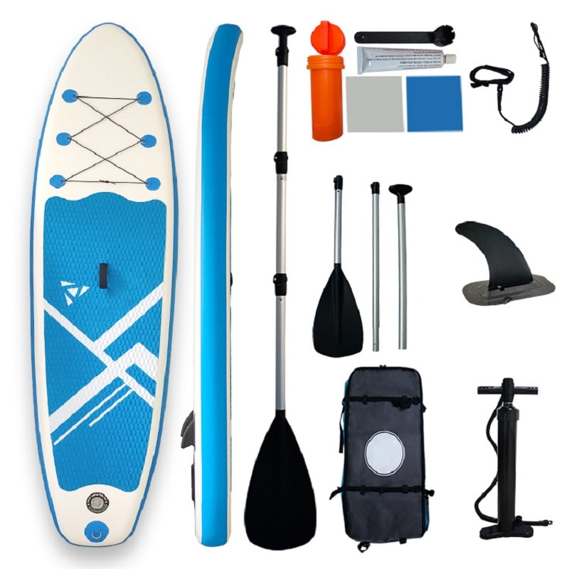 Stable Foldable Stand Up Paddle Board Gonflable SUP Surfboard Tabla Surf Hinchable With Bag inflatable paddle board