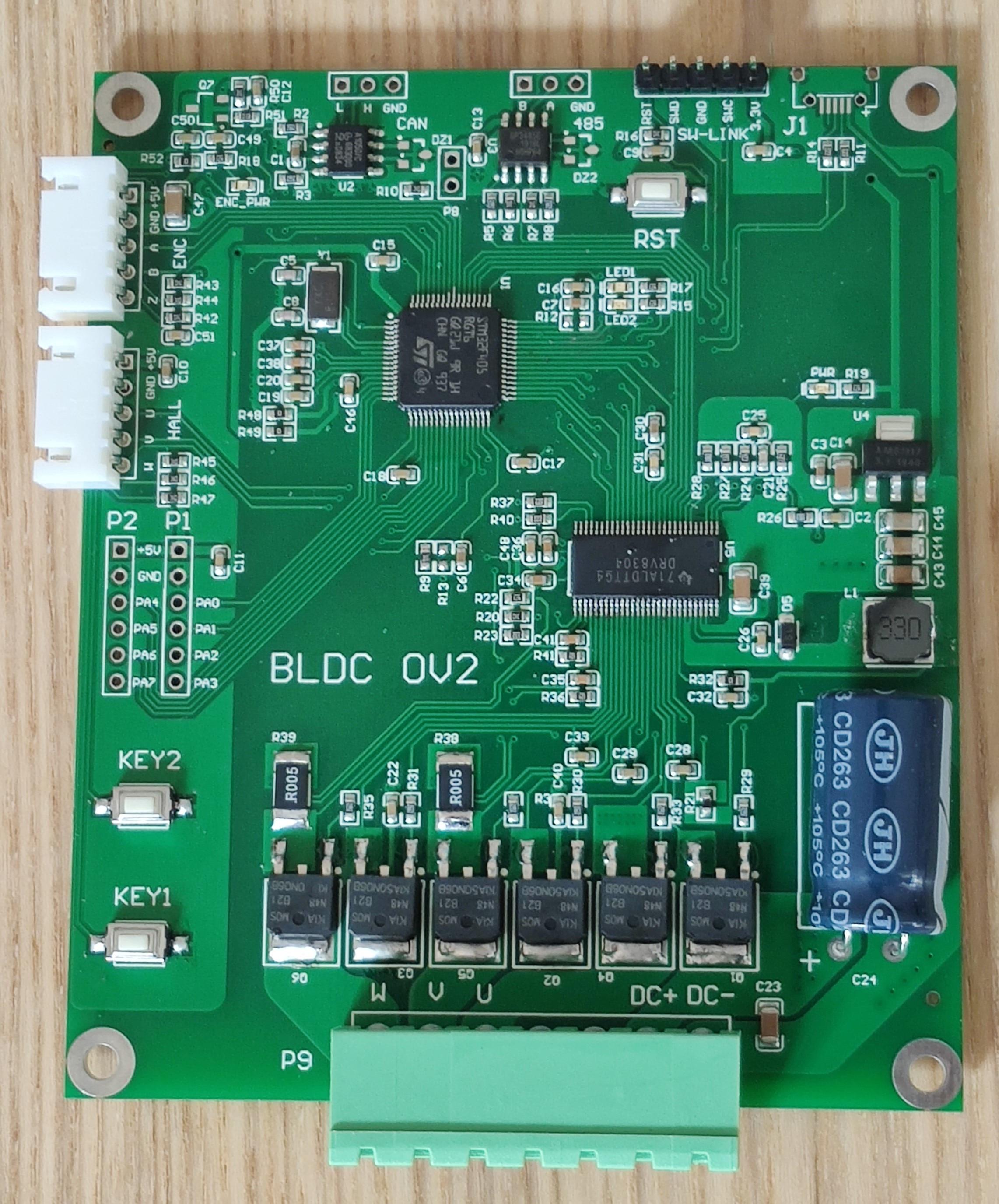 لوحة تطوير محرك سيرفو ، جهاز تشفير ، تحكم في ناقل الحركة ، DRV8301 ، STM32 ، BLDC ، PMSM