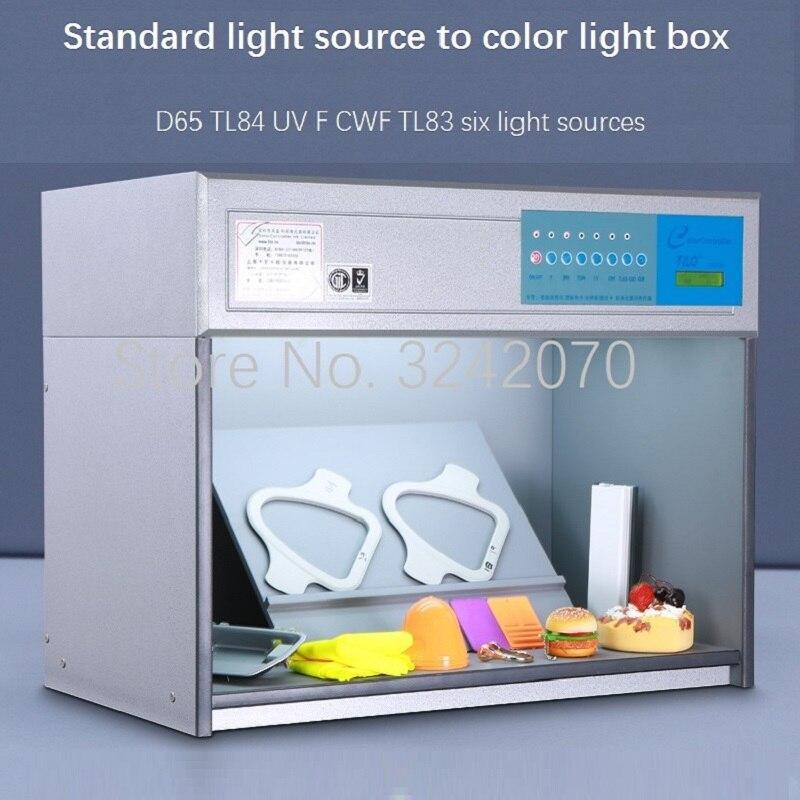 3nh تيلو Tianyouli دوهو دونغهونغ لون صندوق إضاءة D65 مصدر ضوء قياسي وول مارت أنبوبة ليد
