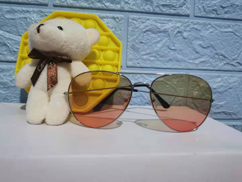 Pink Shades for Women Classic Metal Sunglasses Men Women Brand Designer Goggle Sun Glasses Oculos De