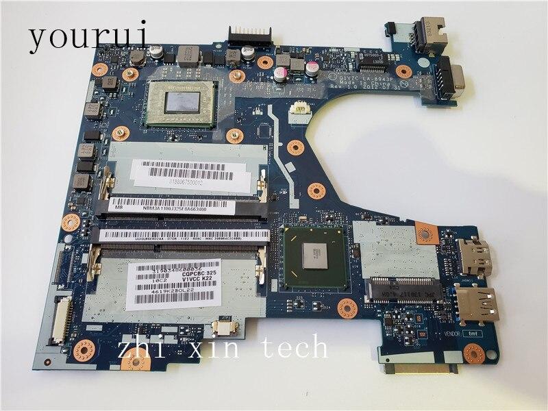 Yourui материнская плата для ноутбука acer V5-131 V5-171 Q1VZC LA-8943P 1007U Процессор 100% полностью протестирована