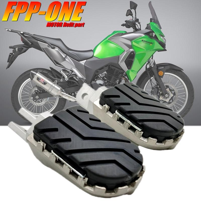 مسند قدم أمامي لكاواساكي VERSYS 300 650 1000 X300 ، ملحقات دراجة نارية