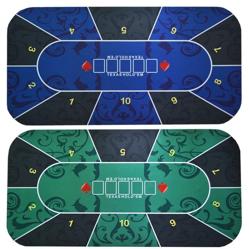 Техасская покерная скатерть, набор для покера в казино, коврик для настольных игр, Настольный коврик для домашних игр, аксессуары для покера-0