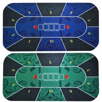 Техасская покерная скатерть, набор для покера в казино, коврик для настольных игр, Настольный коврик для домашних игр, аксессуары для покера