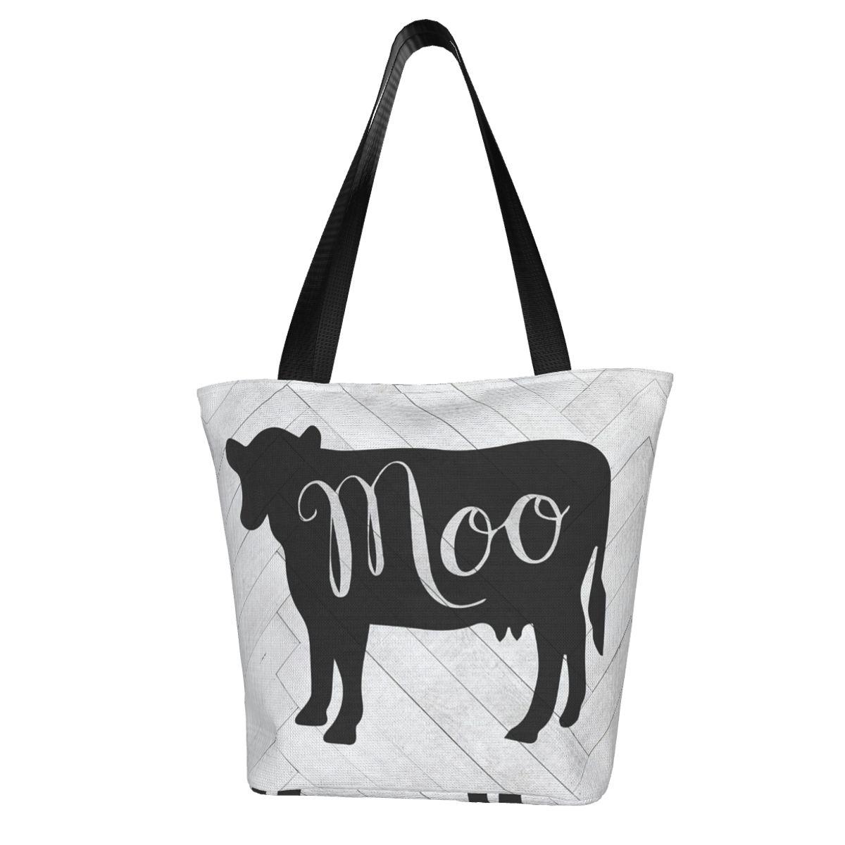 Корова хозяйственная сумка оптом ретро сумка полиэстер путешествия женские сумки