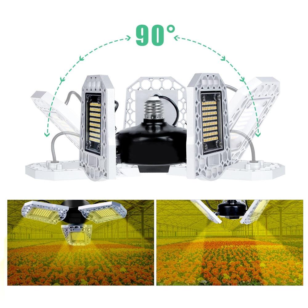 LED Grow Light Horticole Indoor Seedlings Flower LED Phyto Lamp E27 100W 200W 300W Full Spectrum Grow Tent Box IP20 Waterproof enlarge