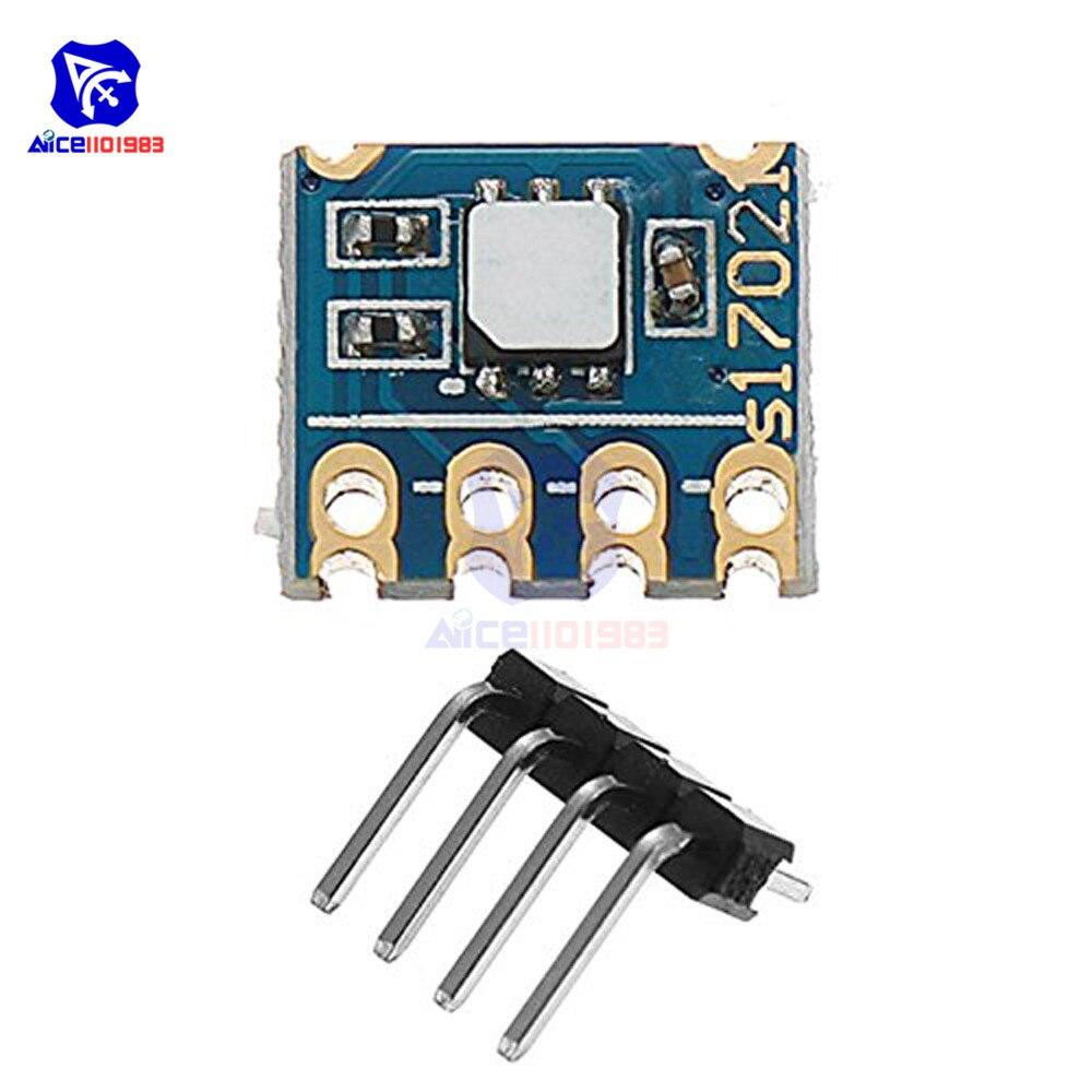Модуль датчика температуры и влажности diymore Si7021, интерфейсная разделительная плата I2C для Arduino