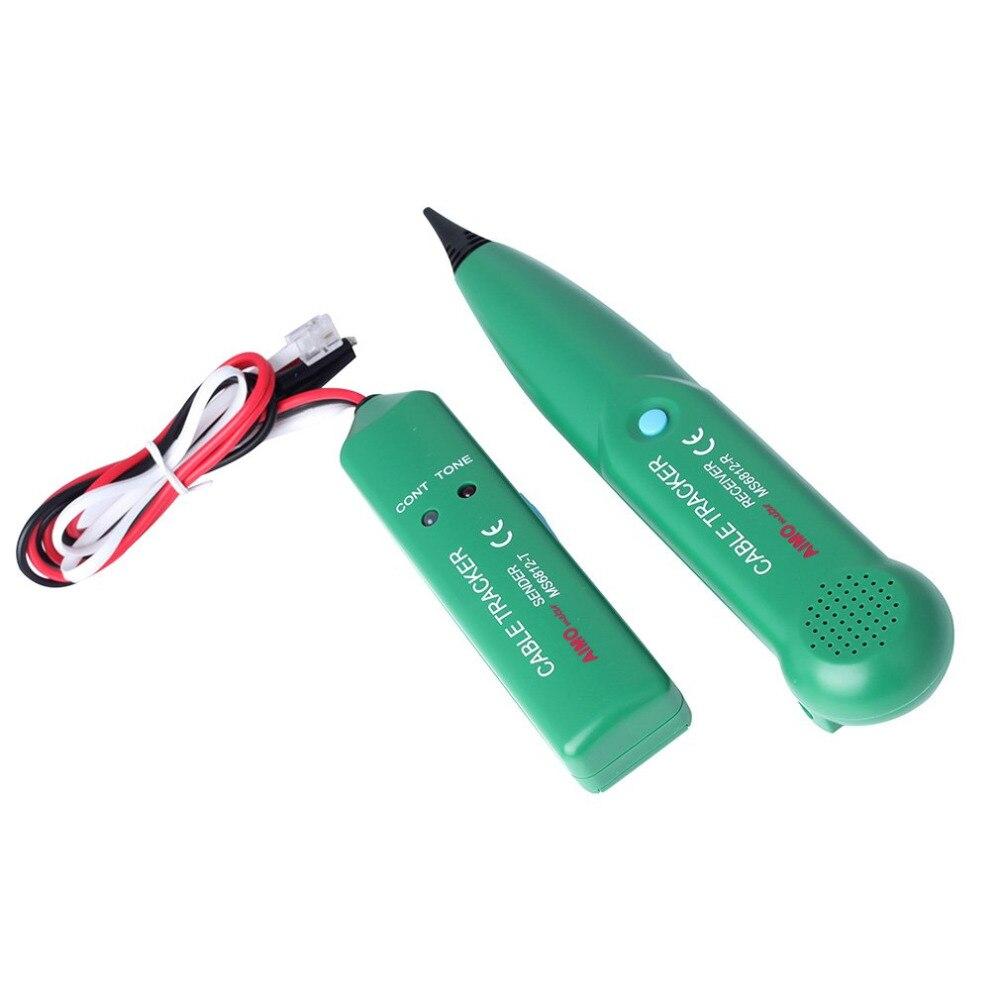 MASTECH телефонный провод сетевой кабель тестер линии трекер для MASTECH MS6812 Лидер продаж