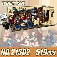 Ideas Series TV U.S. Drama Humor 519PCS Compatible 21302 Model Building Blocks Bricks Funny Toys Kids Birthday Gifts