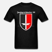 Nouveau T-shirt en coton JG 52 Jagdgeschwader Luftwaffe Deutschland Erich hartmann-t-shirt T-shirt dété