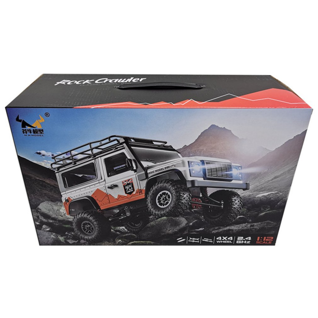 1:12 MN99s 2.4G rc cars Four Drive Remote Control Car With Turn Signal Led Lamp Roof Frame Crawler Truck Remote Control Toys enlarge