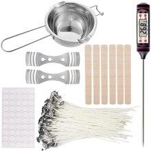Bougie à bricoler soi-même trousse à outils dartisanat, bougie à bricoler soi-même s outils dartisanat bougie mèche outil de fabrication de bougies adapté à la fabrication de bougies débutant