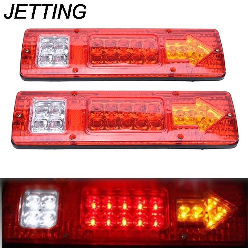 1 шт., автомобильный прицеп остановка заднего указатель поворота 12V 19 светодиодный фонарь светильник Высокое качество новое поступление