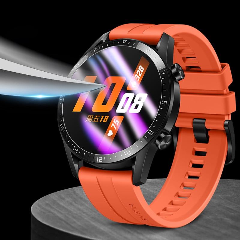 Пленка для huawei watch GT 2 46 мм 42 мм Смарт-часы защита экрана Взрывозащищенная ТПУ полная крышка прозрачная Huawei watch GT 2e пленка
